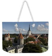 Overview Of Old Town, Medieval Weekender Tote Bag