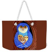 Owl And Owlettes Weekender Tote Bag