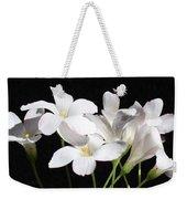 Oxalis Flowers 2 Weekender Tote Bag