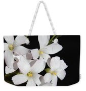 Oxalis Flowers 3 Weekender Tote Bag