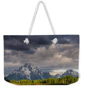 Oxbow Light And Clouds Weekender Tote Bag