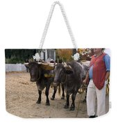 Oxen And Handler Weekender Tote Bag