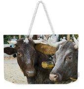 Oxen Pair Weekender Tote Bag