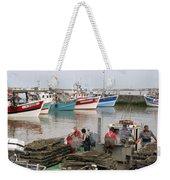 Oyster Harvest Weekender Tote Bag
