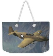 P 51 Mustang On A Mission Weekender Tote Bag