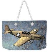 P51 Mustang In Flight Weekender Tote Bag
