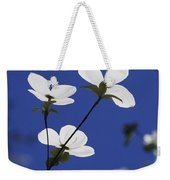 Pacific Dogwood Blossoms Cornus Weekender Tote Bag