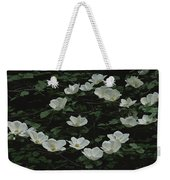 Pacific Dogwood Blossoms Weekender Tote Bag