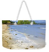 Pacific Ocean Coast On Vancouver Island Weekender Tote Bag