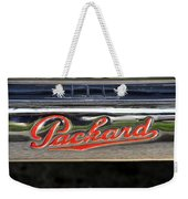 Packard Name Plate Weekender Tote Bag