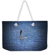 Paddle Boarding Weekender Tote Bag