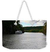 Paddle Boat Weekender Tote Bag