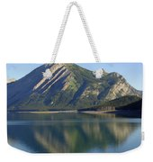 Sunrise Paddle In Peace - Kananaskis, Alberta Weekender Tote Bag