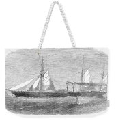 Paddle Wheel Packet Ship Weekender Tote Bag