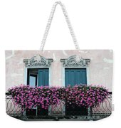 Padua Balcony And Window Boxes Weekender Tote Bag