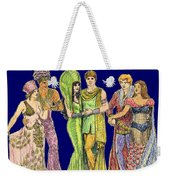 Pageant Couples Weekender Tote Bag