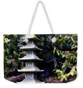 Pagoda Tower Of Zen Weekender Tote Bag