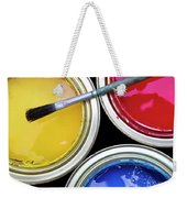 Paint Cans Weekender Tote Bag