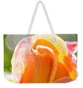 Paint Daub Yellow Rose Weekender Tote Bag