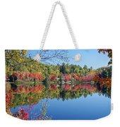 Paint Lake  Muskoka Canada Weekender Tote Bag
