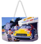 Paint Shop Weekender Tote Bag