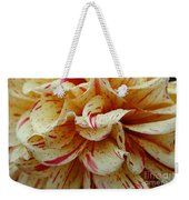 Paint Spattered Petals Weekender Tote Bag