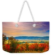 Paint Valley From Valley View Golf Weekender Tote Bag