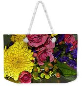 Painted Bouquet Weekender Tote Bag