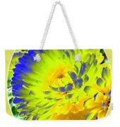 Painted Chrysanthemums Weekender Tote Bag