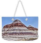 Painted Desert Mounds Weekender Tote Bag