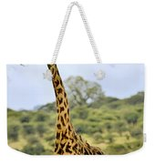 Painted Giraffe Weekender Tote Bag