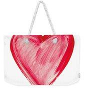 Painted Heart - Symbol Of Love Weekender Tote Bag
