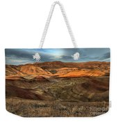 Painted Hills In The Fossil Beds Weekender Tote Bag