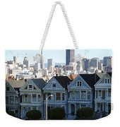 Painted Ladies Weekender Tote Bag by Linda Woods
