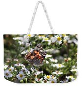Painted Lady - Surrounded In White Weekender Tote Bag