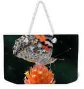 Painted Lady In A Shower Weekender Tote Bag