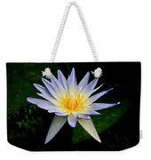 Painted Lily And Pads Weekender Tote Bag