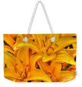 Painted Lily Weekender Tote Bag