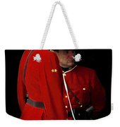 Painted Mounties Weekender Tote Bag
