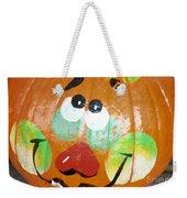 Painted Pumpkin 3 Weekender Tote Bag