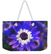 Painted Purple  Weekender Tote Bag