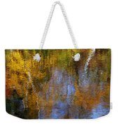 Painted River Weekender Tote Bag