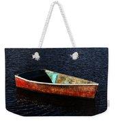 Painted Row Boat Weekender Tote Bag