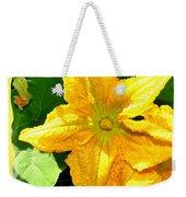Painted Squash Blossoms Weekender Tote Bag
