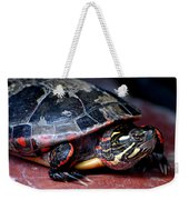 Painted Turtle Michigan Weekender Tote Bag