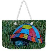 Painted Turtle Sprinkler Weekender Tote Bag