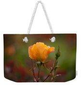 Painterly Yellow Rose Weekender Tote Bag