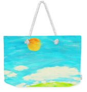 Painting Of Nature In Spring And Summer Weekender Tote Bag