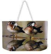 Pair Of Wild Birds Weekender Tote Bag