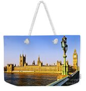 Palace Of Westminster From Bridge Weekender Tote Bag